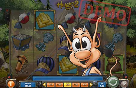 Hugo 2 Slot Game in 1xBit Casino.