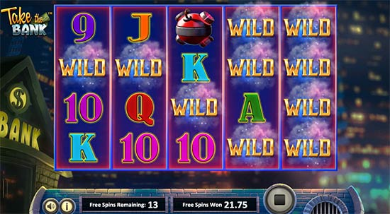 Prendi lo slot Bank da Betsoft.
