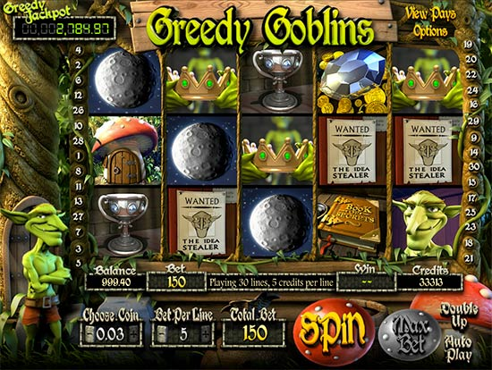 Slot Greedy Goblins Betsoft.
