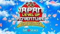 Logo BitStarz Japan Level Up Adventure