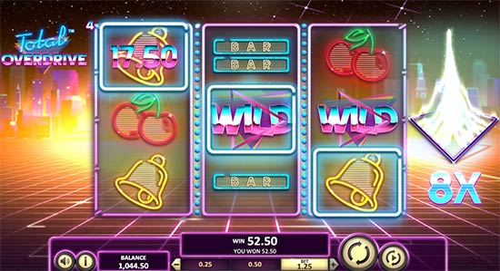 Slot Total Overdrive di Betsoft.