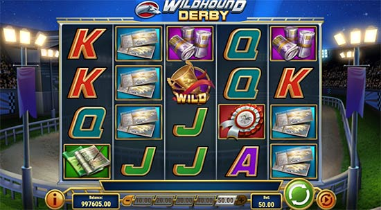 Slot Wildhound Derby di Play'n GO.
