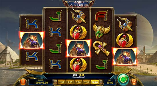 Ankh of Anubis slot da Play n 'GO.