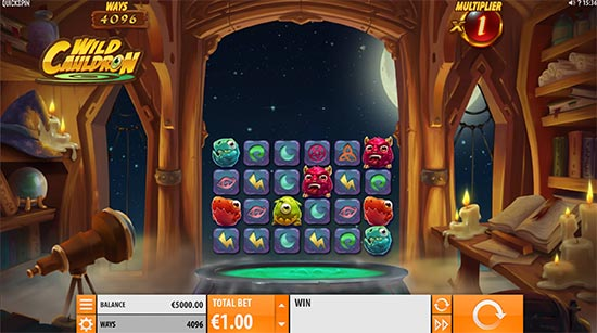 Slot Wild Cauldron di Quickspin.