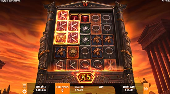Nero's Fortune slot di Quickspin.