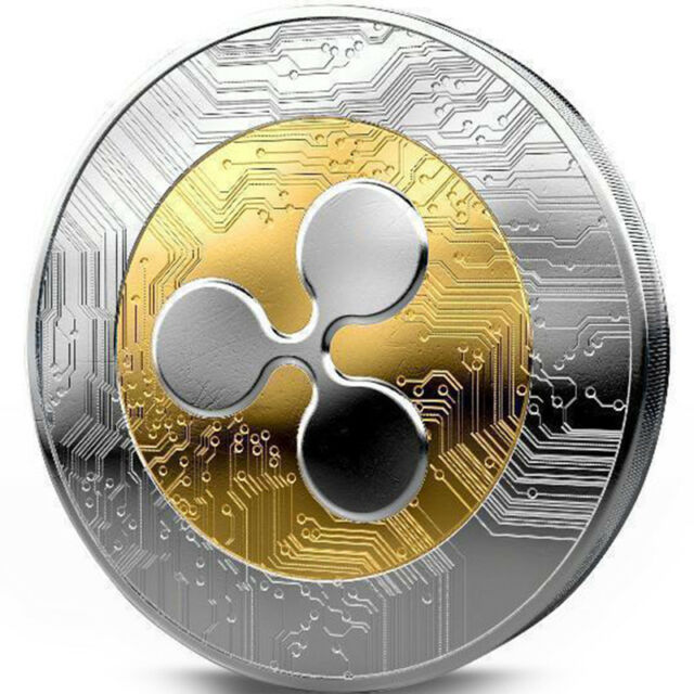 1 pz Ripple Coin XRP Crypto Commemorative Ripple XRP Collectors ...