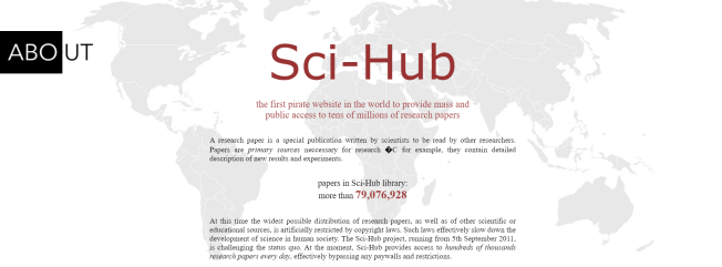 Screenshot di Scihub.wikicn.top